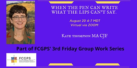 When the pen can write what the lips can't say. tickets
