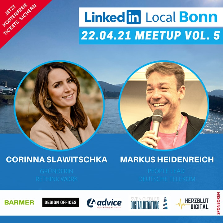 LinkedIn Local Bonn - #LiLoBonn Meetup Vol. 5 - hybrid: Bild