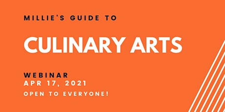 WEBINAR | Millie's Guide to Culinary Arts tickets