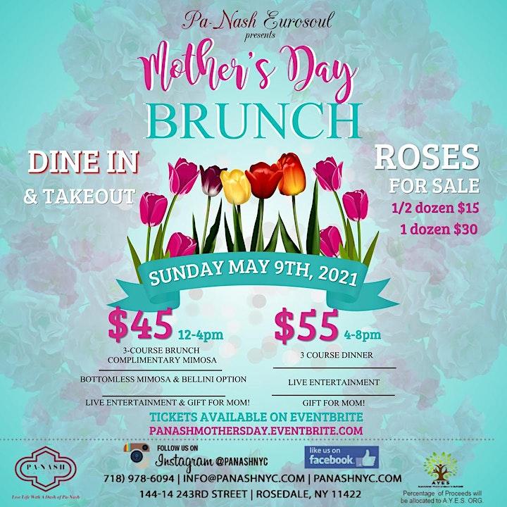 Pa Nash Eurosoul Mother's Day Brunch + Dinner 2021 image