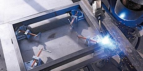Spanntechnik in der Metallwerkstatt - Online Workshop mit Bessey Tickets