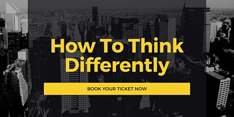 How To Think Differently tickets