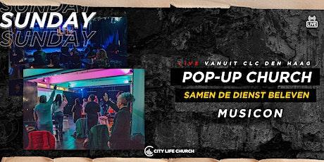Pop-Up Church Musicon via kerkplein - zo. 11 april tickets