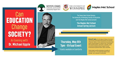 An Evening with Dr. Michael Apple - Can Education Change Society? tickets