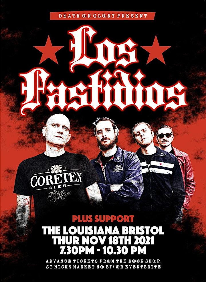 Los Fastidios / The Barking Poets Live at The Louisiana image