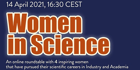Women in Science - An online roundtable with 4 inspiring women tickets