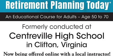 Retirement Planning Today: Online Educational Course for Adults Ages 50-70 billets
