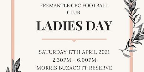 Fremantle CBC Ladies Day 2021 tickets