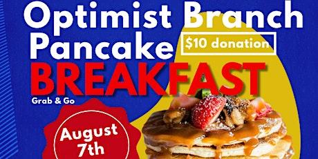 12th Annual Optimist Branch Pancake Breakfast tickets