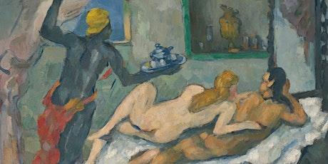 Online Kunstdialog - Paul Cézanne - L'Après-midi à Naples Tickets