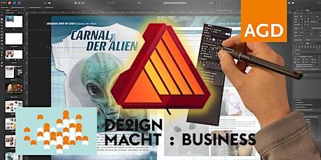 Webinar: Arbeiten mit Affinity Publisher und Umstieg von Indesign tickets