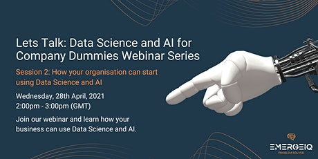 How your organisation can start using Data Science and AI tickets