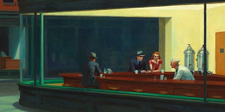 Online Kunstdialog - Edward Hopper - Nighthawks Tickets