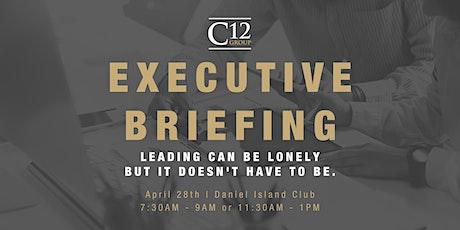 C12 Charleston Executive Briefing tickets
