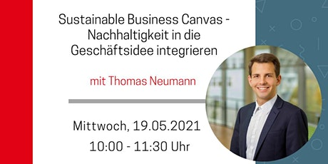 Sustainable Business Canvas - Online-Seminar des CAT Meldorf Tickets