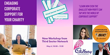 Engaging Corporate Support for Your Charity - Workshop tickets