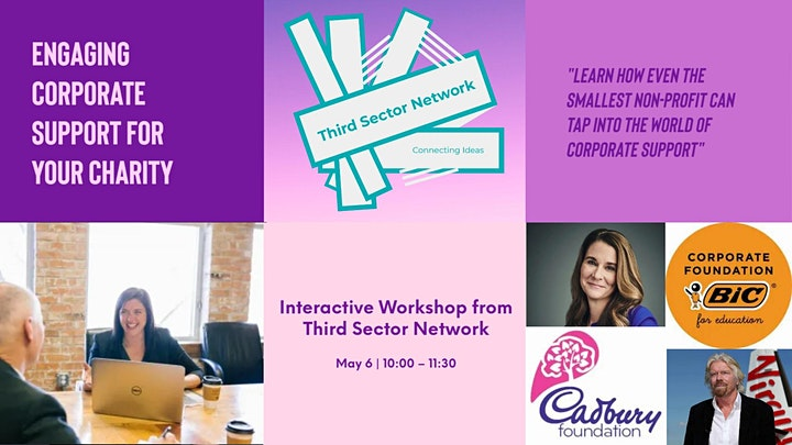 Engaging Corporate Support for Your Charity - Workshop image