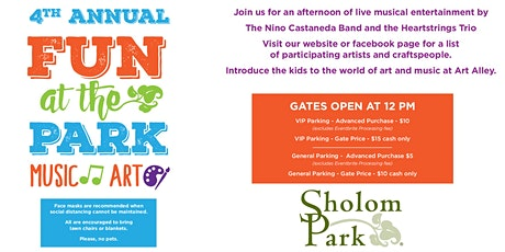 Fun at the Park 4th Annual Music & Art tickets