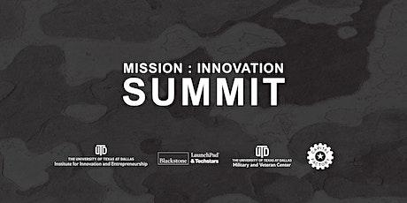 Mission: Innovation Summit tickets
