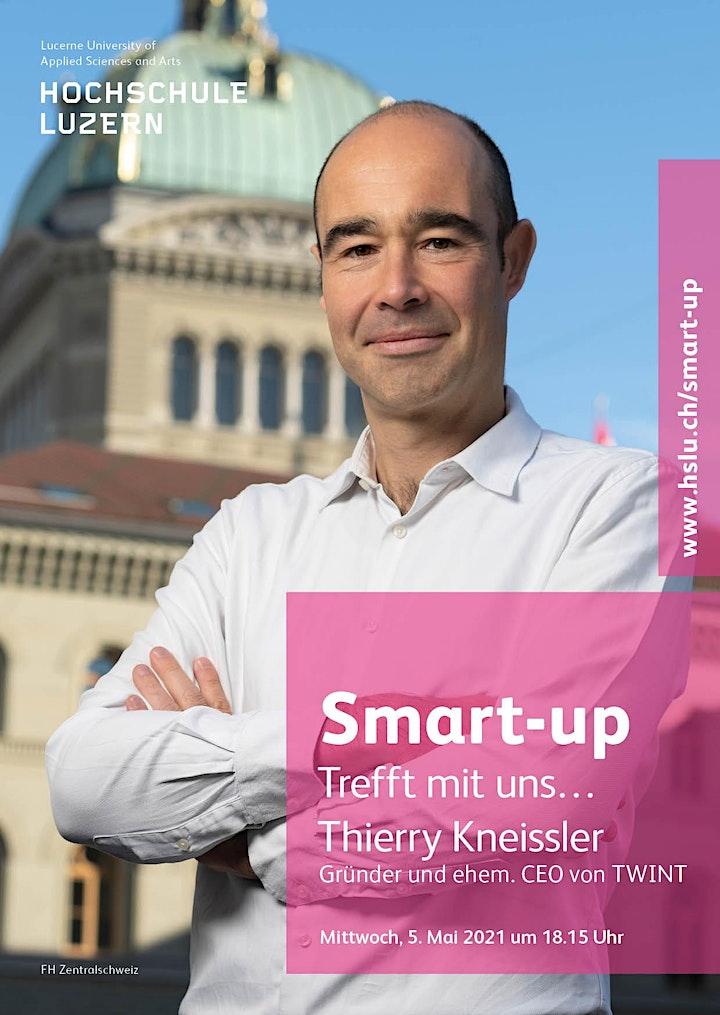 Trefft mit uns... Thierry Kneissler (Gründer und ehem. CEO von Twint): Bild