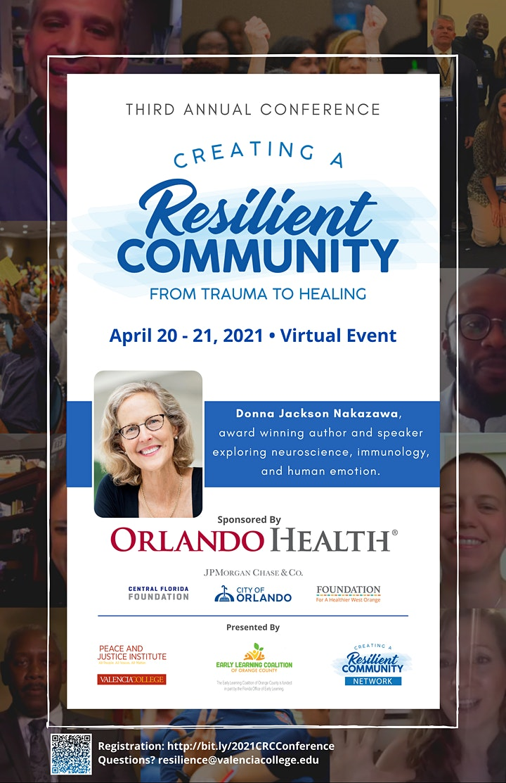2021 Creating a Resilient Community: From Trauma to Healing Conference image