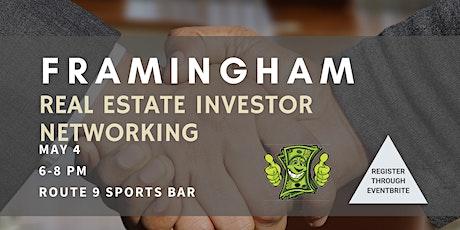 Framingham Real Estate Investor Networking tickets