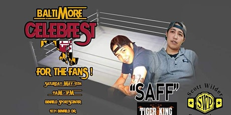 Saff / Tiger King at Baltimore CelebFest tickets
