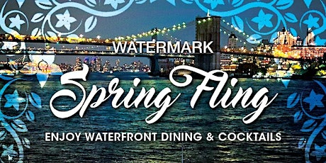 "FRIDAYS: ""SPRING FLING"" ON THE PIER! VIP ""GLASSHOUSES"" & OUTDOOR SEATING tickets"