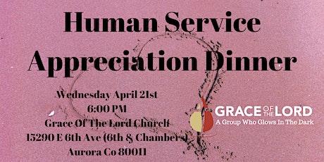 Human Service Appreciation Dinner tickets