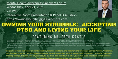 Owning Your Struggle: Accepting PTSD and Living Your Life tickets