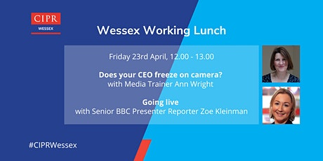 CIPR Wessex Working Lunch  - Media Training tickets