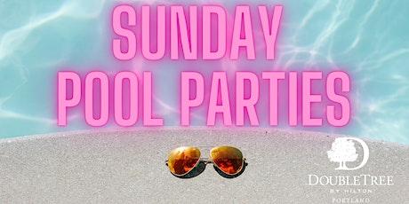 DoubleTree Portland Sunday Pool Party tickets