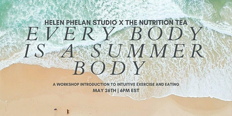 Intuitive Fitness + Nutrition w Shana Spence MS,RDN,CDN tickets