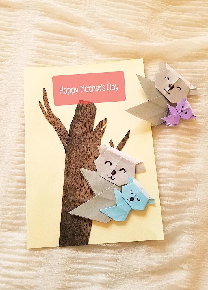 Origami Koala Bear Bookmark/Card Children Workshop (for Mother's Day) image