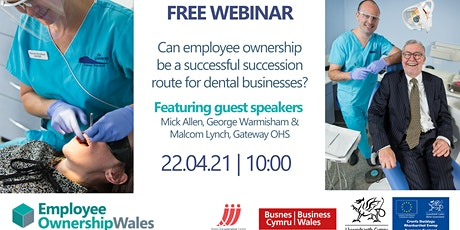 Selling Your Business – Employee Ownership for Dental Businesses tickets