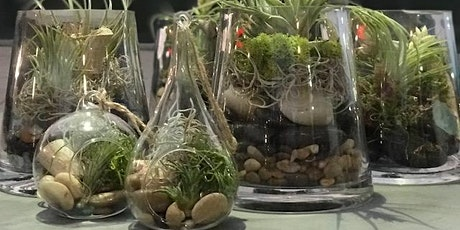 Cocktails and Create a Terrarium tickets