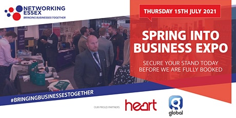 Spring into Business Expo  15th July 10.30am-15.30pm tickets