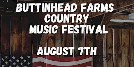 Buttinhead Farms Country Music Festival tickets