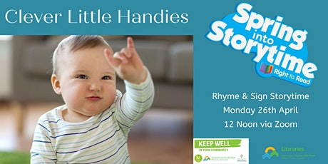 Spring into Storytime: Rhyme & Sign Story tickets