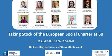 Taking  Stock of the European Social Charter at 60 tickets