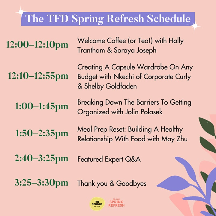 The TFD Spring Refresh image