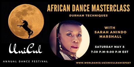 African Dance Masterclass-Dunham Techniques tickets