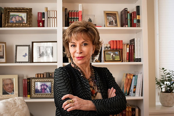 Live interview and Q&A with Isabel Allende image