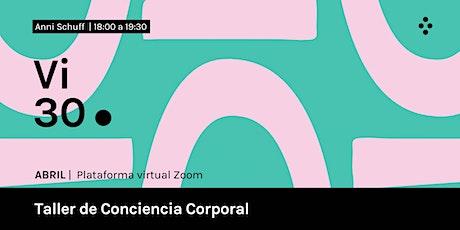 Taller de Conciencia Corporal boletos