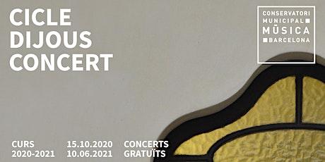 Concert de final de curs entradas