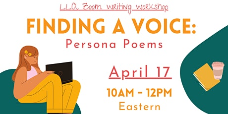 Finding a Voice: Writing Persona Poems tickets