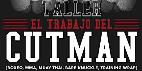 TALLER EL TRABAJO DEL CUTMAN boletos