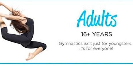 Adults gymnastics tickets