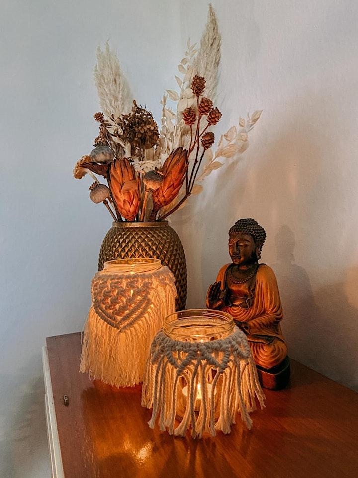 Makramee Licht Workshop in Berlin: Bild