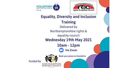 Online Equality, Diversity and Inclusion Training - Northampton Groups Only tickets
